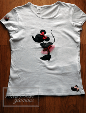 Camiseta Minnie vinilo 4