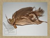 Tocado plumas dorado 3