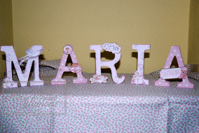 Letras decoradas 1