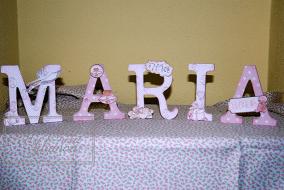 Letras decoradas 1