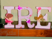 Letras decoradas Irene 3