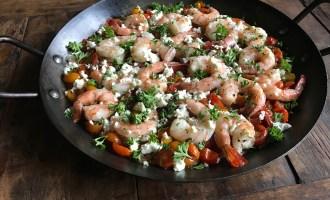 shrimp santorini recipe