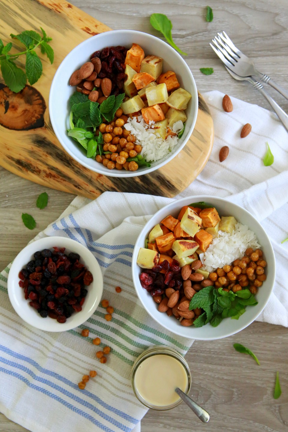 Vegan protein bowl
