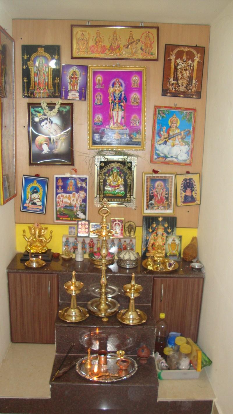 Mindful Prayer at my pooja room