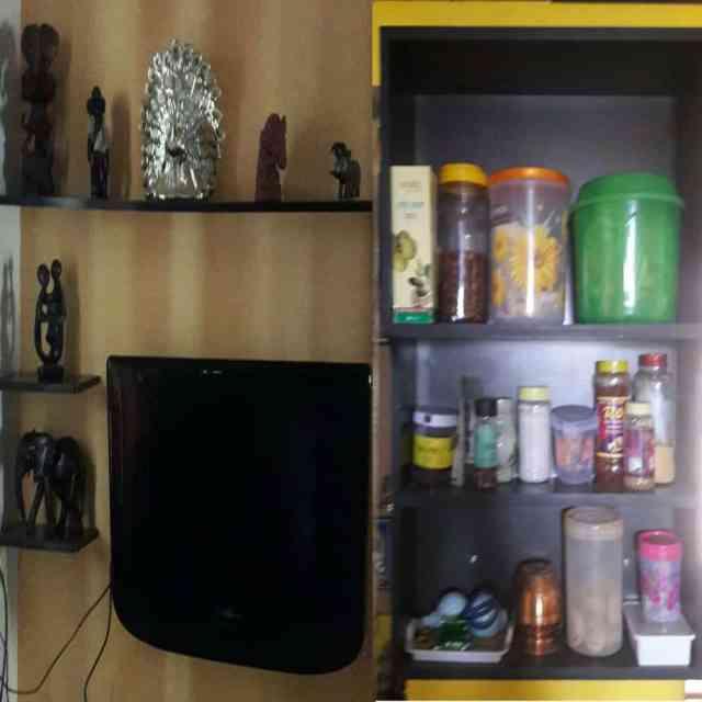 New Wooden Shelves