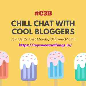 Chill Chat With Cool Bloggers - #C3B Badge