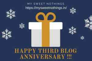 Blog Third Anniversary