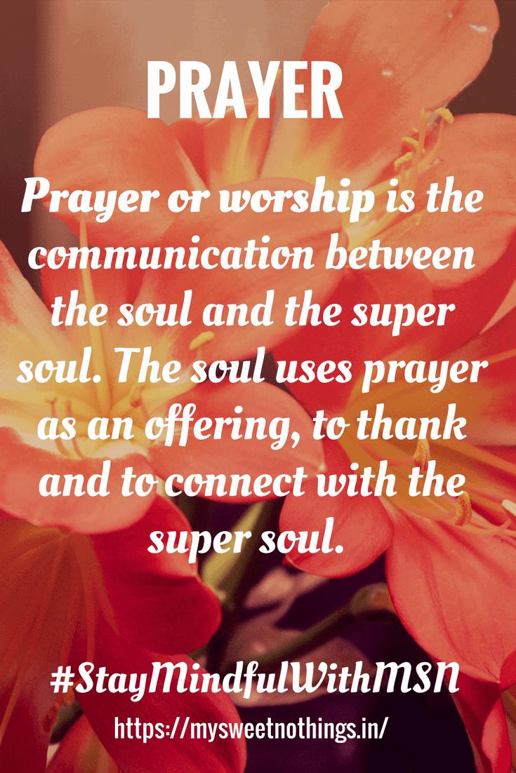P For Prayer