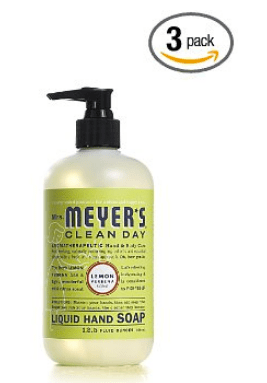 Mrs Meyer39s THREE PACK of Lemon Verbena or Rhubarb Liquid