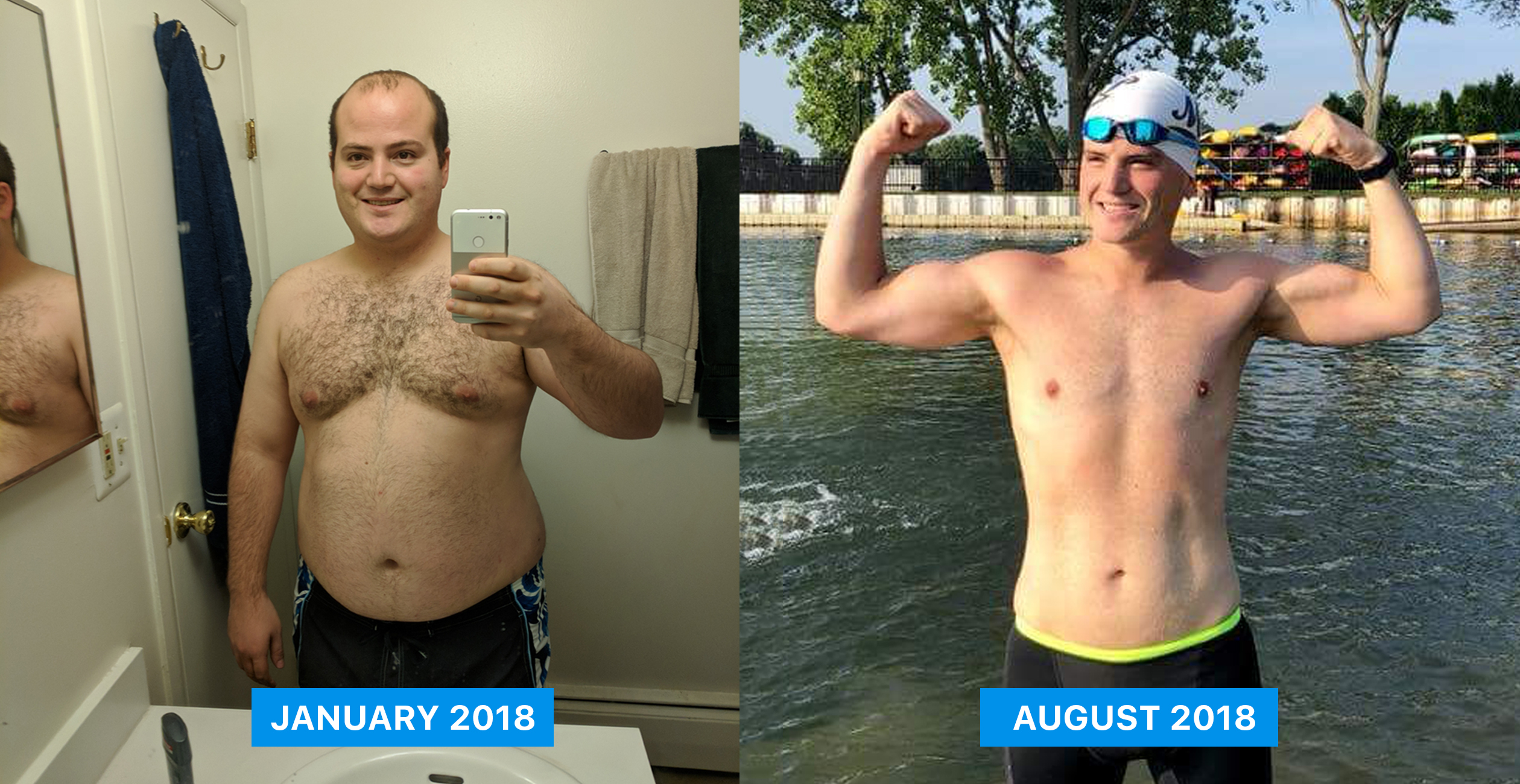 How I Lost 100lbs Swimming 4x/Week