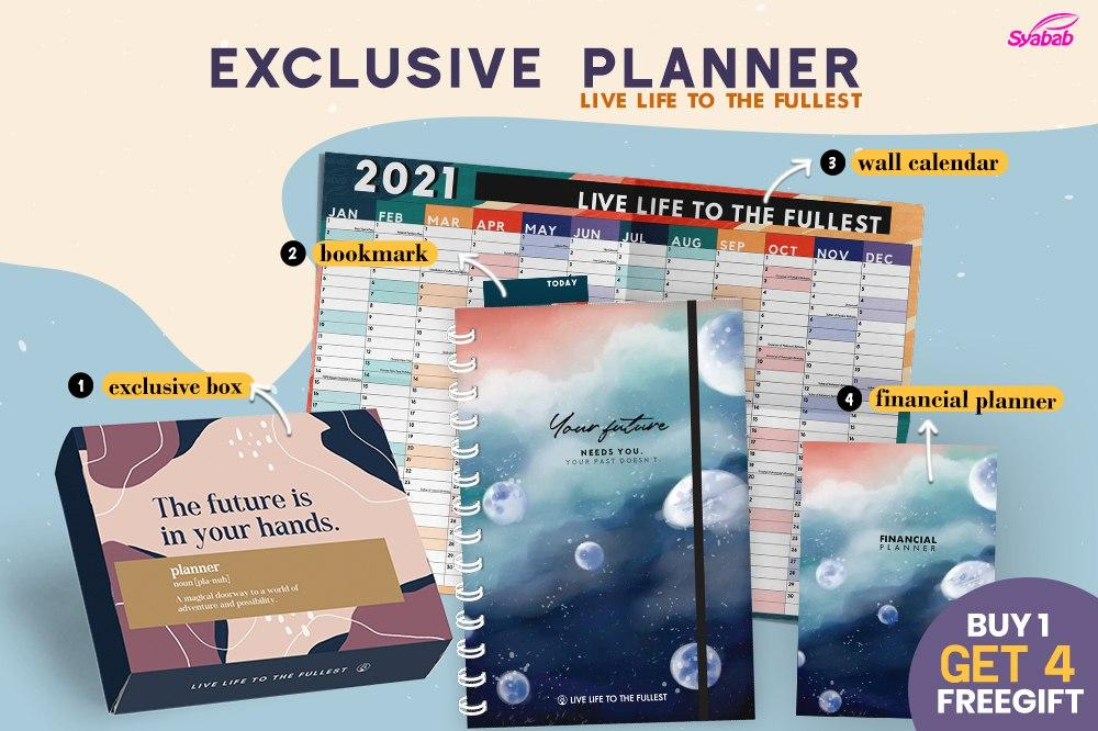 Syabab Exclusive Planner Now Open For Pre Order!