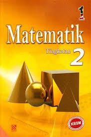 BUKU TEKS MATEMATIK TINGKATAN 2