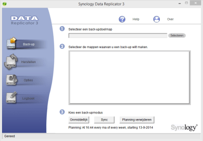 Screenshot Data Replicator 3