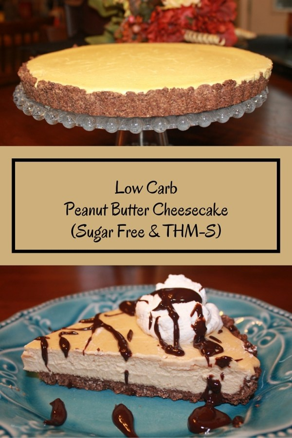 Low Carb Peanut Butter Cheesecake