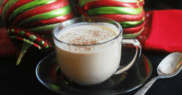 Low Carb Pumpkin Spice Eggnog is a great twist on a Yuletide drink. With only 3 net carbs per serving it is great for low carb diets and THM.