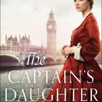 A Book Review on Jennifer Delamere's book The Captain's Daughter. Historical and Christian Fiction.