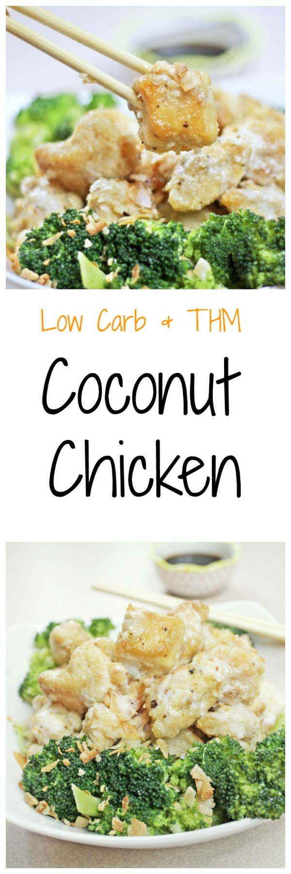 Coconut Chicken || Low Carb, THM, Asian Inspired, Gluten Free, Chicken