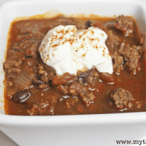 Dump and Go Chili || Freezer Meals Made Easy