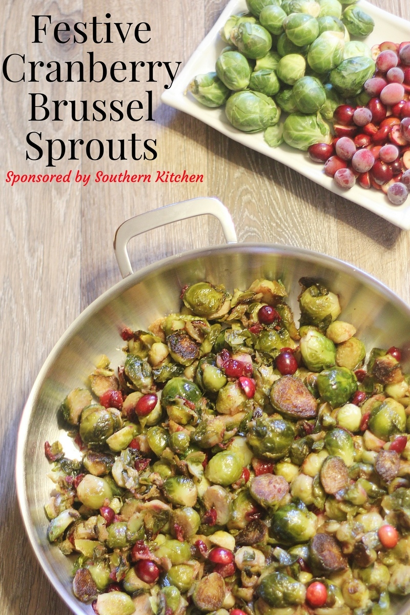 Festive Cranberry Brussel Sprouts Amp Demeyere Stainless