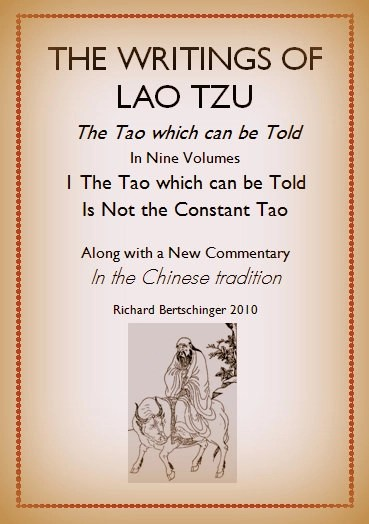 The writings of lao tzu taoworld he beginning of this booklet fandeluxe Choice Image