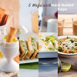 5 Things to do with hard boiled eggs