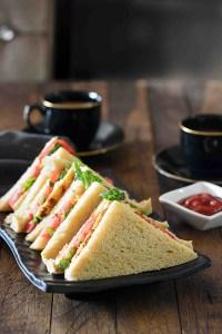 Indian Style Bread Omelette Sandwich | My Breakfast Table #MTCchaiNashta