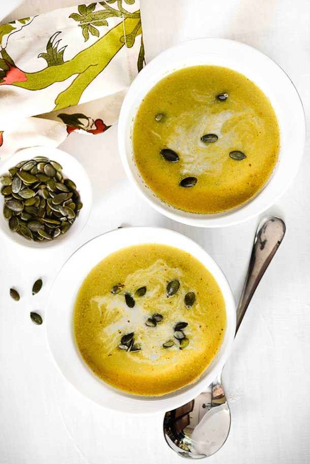 Zattar roasted broccoli soup