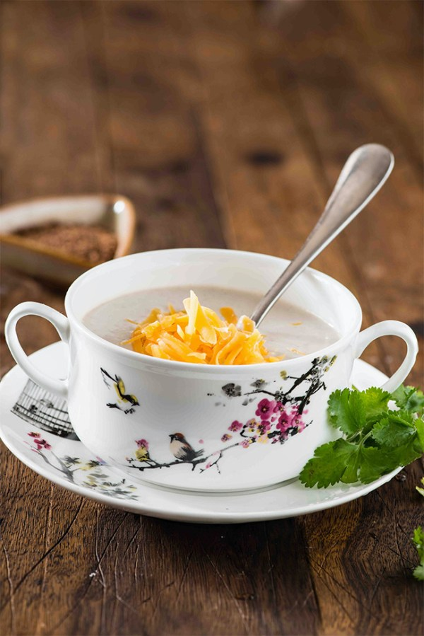 Cream of mushroom soup, A soup recipe that is super easy to cook and creamy earthy taste of mushroom makes it really makes mushroom soup a perfect comfort soup for winters.