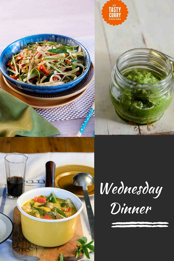 Indian meal plan week 1 dinners my tasty curry indian meal plan with recipes for a week day wise weekly indian meal plan with forumfinder Choice Image