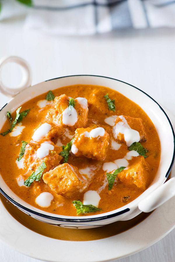 Paneer Tikka Masala Recipe Tikka Masala Gravy My Tasty Curry