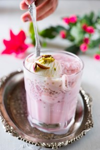 Rose Falooda Recipe – How to make Rose Falooda