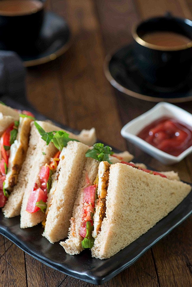Bread Omelette sandwich is for the people who love bread and eggs together and want to give a twist to the way to eat them together. It is a quick, easy and healthy sandwich recipe which qualifies to go at the top of my list.