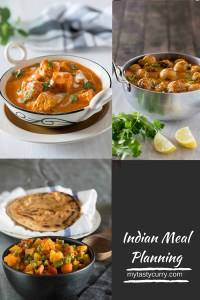 Indian Meal Plan for the Week – Week Three
