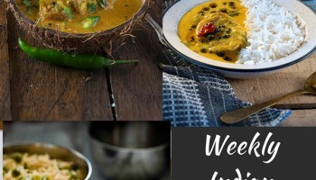 Indian Meal Plan Week 1 - Dinners - My Tasty Curry