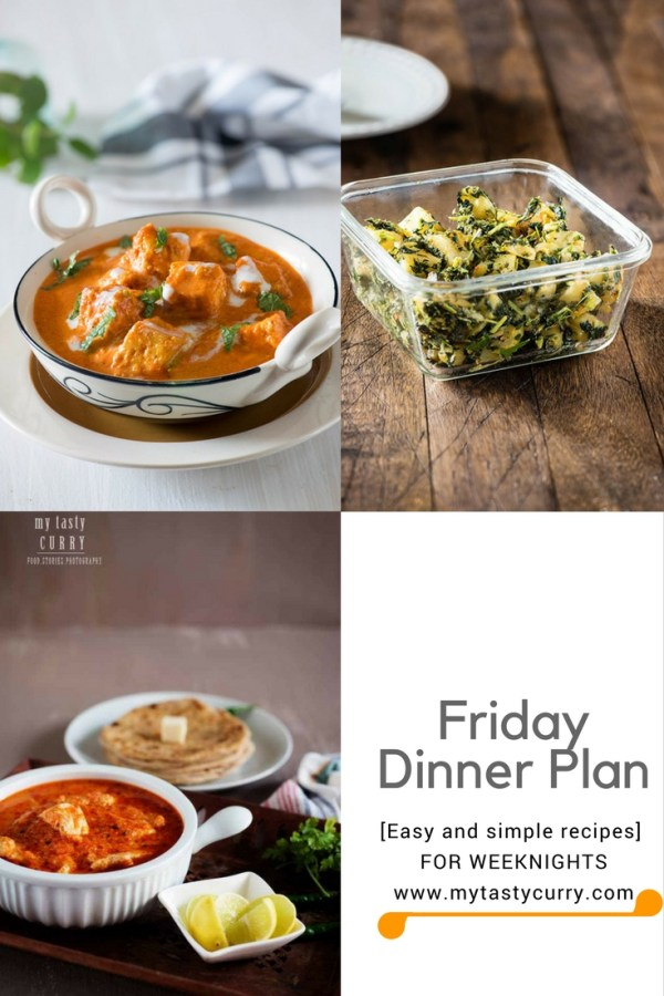 Indian meal plan week 5 indian dinner plan for week my tasty curry friday dinner plan indian meal plan forumfinder Image collections