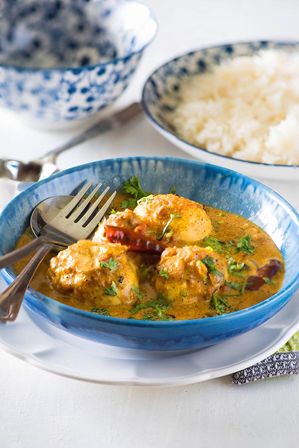 Sri Lankan Egg Curry Sri Lankan Fried Egg Curry