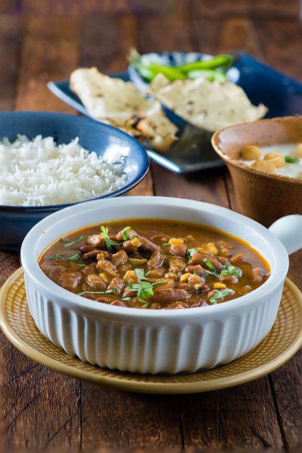 how to make punjabi rajma curry