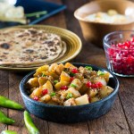 Vrat wale sookhe aloo is spicy falahari recipe that can be served during Navratri and other fasts. You can serve these falahari sookhe aloo as a sabzi or snack.