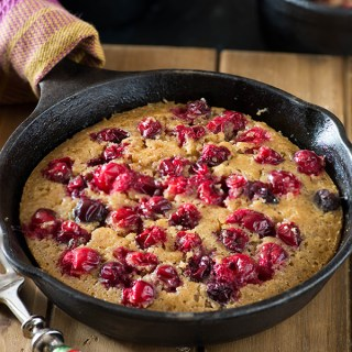 Cranberry cobbler is a delicious festive dessert that can be made using fresh or frozen cranberries. A cranberry cake that is very simple to make, looks and tastes incredibly delicious and takes 30 Minutes from start to finish.