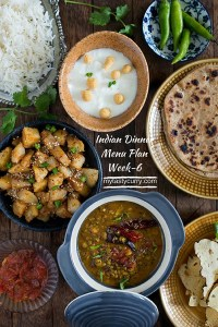 Indian Meal Plan Week 6 – Breakfast Lunch And Dinner Plan