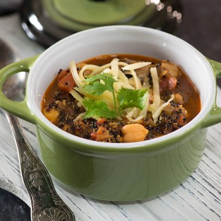 Veggie and Quinoa soup with power packed nutrition and hearty taste is perfect soup to cook and enjoy this winter. A healthy and delicious winter soup meal is a modified version of minestrone soup but with more power packed in terms of nutrition and taste.