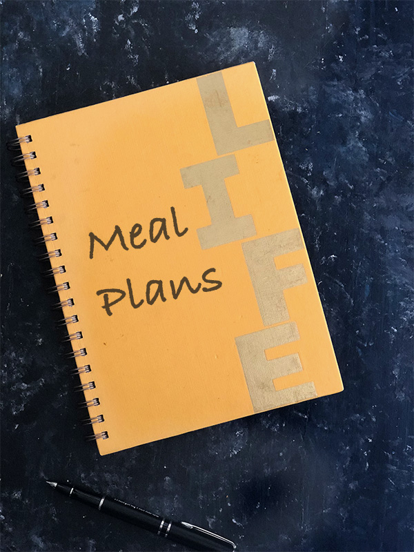 Indian Weekly Meal Plan Diary