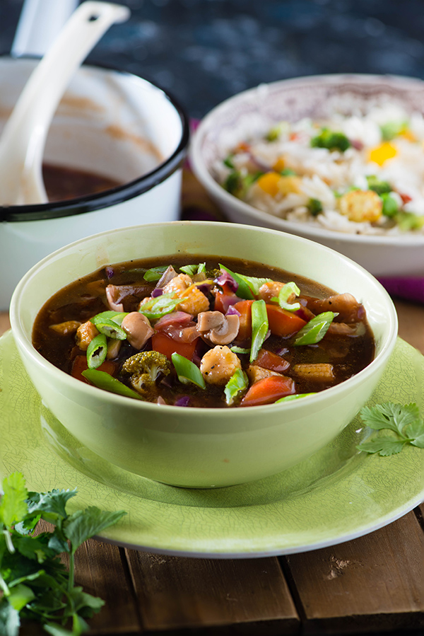 Hot and sour vegetables recipe from Indochinese cuisine is perfect gravy to serve with fried or noodles and is popular gravy ordered in restaurant