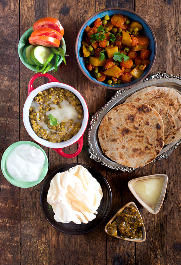 Weekly Indian Meal Plan and Meal Prep