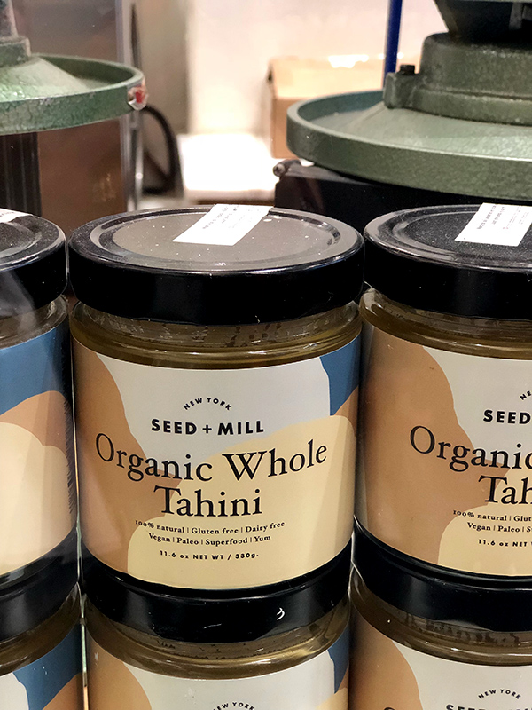 tahini from seed mills Chelsea market