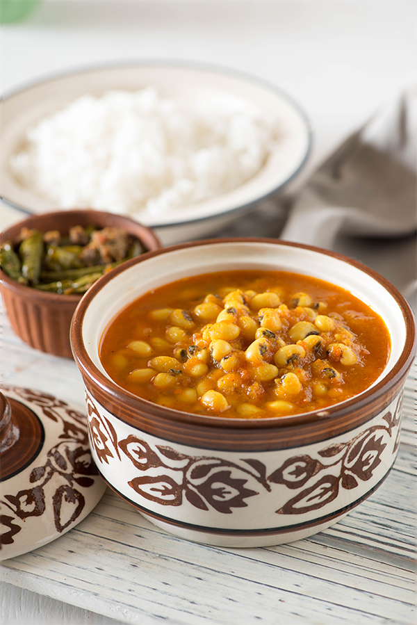 Lobia curry recipe