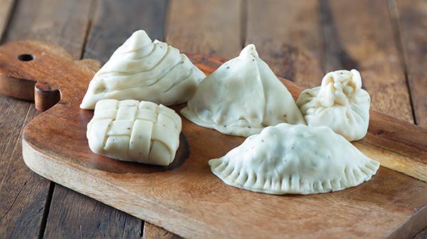 Shapes of samosa
