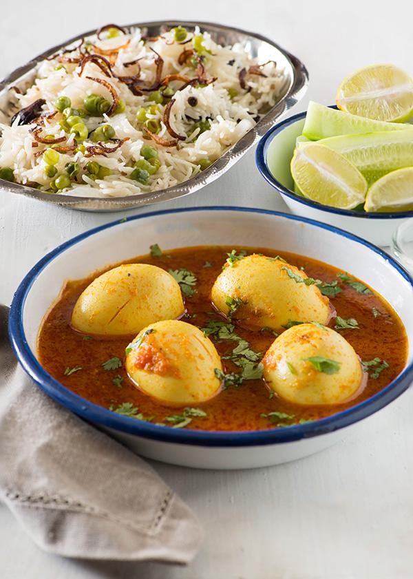 Punjabi Tariwali Egg Curry - Egg Curry Recipe Punjabi Style