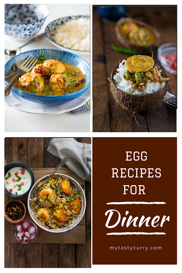 Egg Recipes For Dinner My Tasty Curry