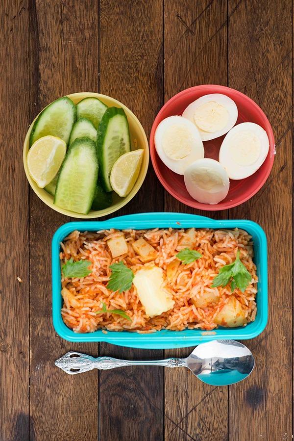 Spanish Rice Lunch Box Recipe